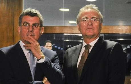 Romero Jucá e Renan Calheiros