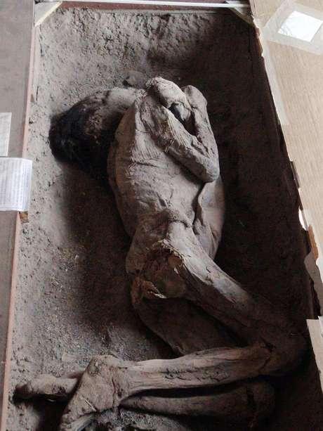 Corpos mumificados de comunidade indígena datam de 500 a.C a 600 d.C.