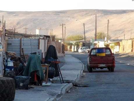 Quillagua fica cerca de 1.600 quilômetros ao norte de Santiago
