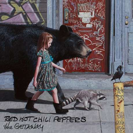 Capa do novo álbum da banda Red Hot Chili Peppers