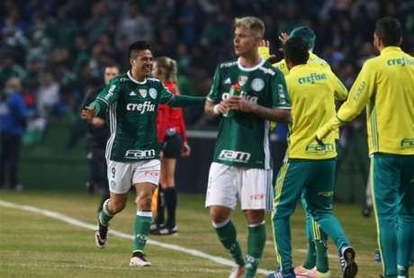 Palmeiras tem um pênalti no Brasileiro