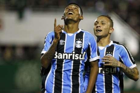 Grêmio tem um pênalti no Brasileiro