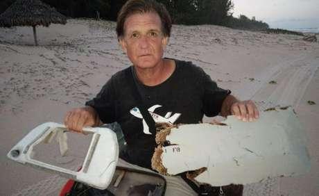 Advogado Blaine Gibson encontrou os objetos no leste de Madagascar