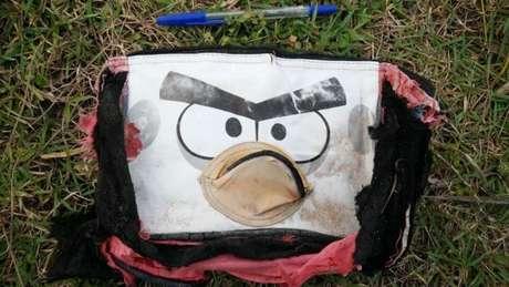 Foram descobertos cerca de 20 itens, incluindo bolsa 'Angry Birds'