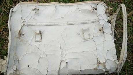 Bolsa branca foi descoberta na praia de Riake, em Madagascar
