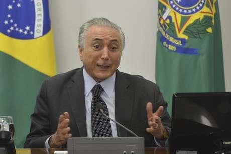 O presidente interino Michel Temer disse que a interinidade não tem atrapalhado a governabilidade