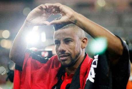 Léo Moura quando atuava pelo Flamengo (Foto: Wagner Meier/LANCE!Press)