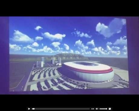 Vídeo do projeto mostra grande estrutura na Zona Oeste (Reprodução de internet)