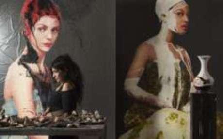 Quadros pintados por Lita Cabellut