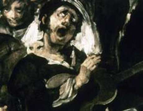 Detalhe da obra 'Romaria de Santo Isidro', de Francisco de Goya