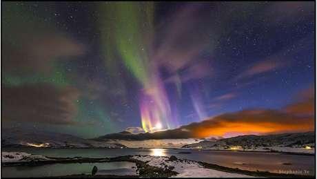 A categoria Beleza do Céu Noturno foi vencida por pela chinesa Stephanie Ye, de China, com sua foto de uma aurora boreal fotografada em Tromso, Noruega.