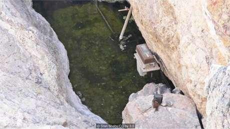 Buraco do Diabo, onde os peixinhos nascem, crescem, se reproduzem e morrem