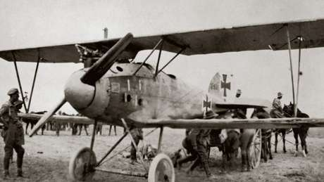 Aviões tiveram papel mais tático do que de combate na Primeira Guerra Mundial