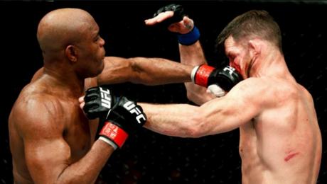 Anderson Silva foi derrotado por Bisping no UFC Londres, mas sonha com cinturão - (FOTO: Reprodução)