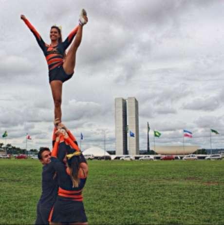 Vera Lucia, cheerleader da NFL