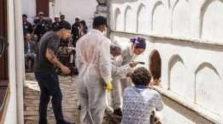 Exumação da ossada de Chica da Silva faz parte de projeto de documentário