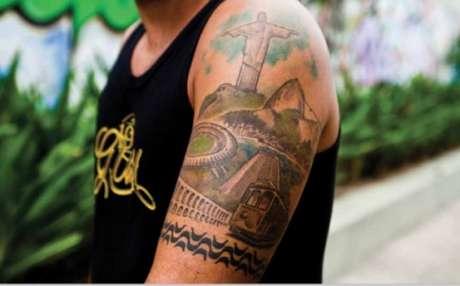 Mais uma tatuagem do Maracanã