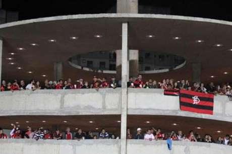 Torcida do Flamengo lotou o estádio (Reprodução)