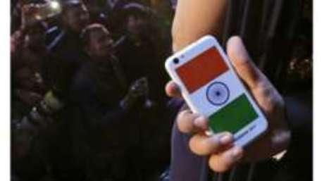 Mercado indiano de celulares tem 1 bilhão de assinantes