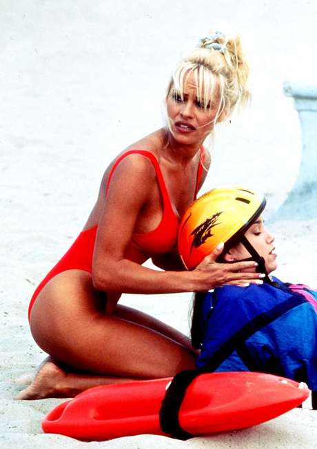 Pamela Anderson em 'Baywatch'