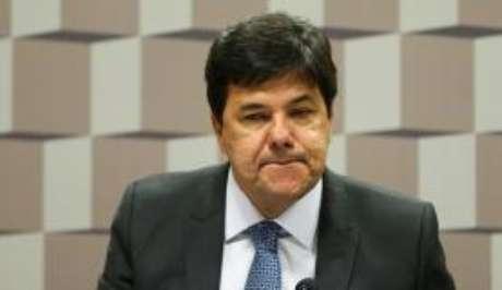 O ministro da Educação, Mendonça Filho, durante audiência pública da Comissão de Educação, Cultura e Esporte, no Senado