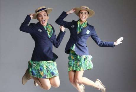 Uniformes de cerimônia da Rio-2016 são revelados   Bonitos para todos  1ab4f6b0bc720