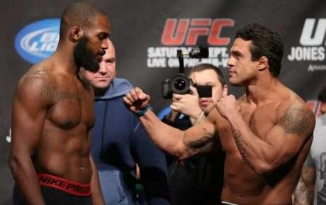 Vitor Belfort enfrentou Jon Jones em setembro de 2012 (FOTO: UFC)