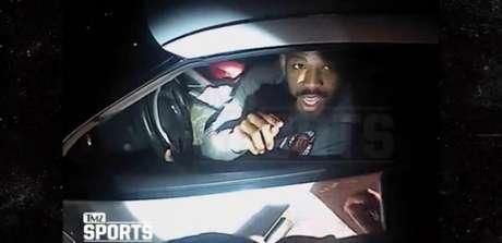 Jon Jones aparece em vídeo feito pela polícia de Albuquerque (EUA) (FOTO: Reprodução)
