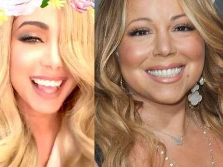 Anitta se divertiu ao se comparar com Mariah Carey, uma de suas referências na músca