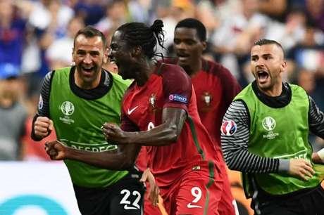 Éder fez o gol do título português (Foto: Franck Fife / AFP)