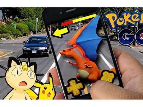 """Só """"Pokémon Go"""" pode te dar a sensação de estar andando na rua e esbarrar com um monstrinho"""