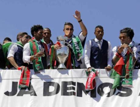 Festa Seleção Portuguesa (foto:AFP)