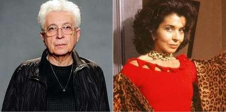 O novelista e Betty Faria, como Tieta: clássico insuperável (Fotos: TV Globo/Divulgação)