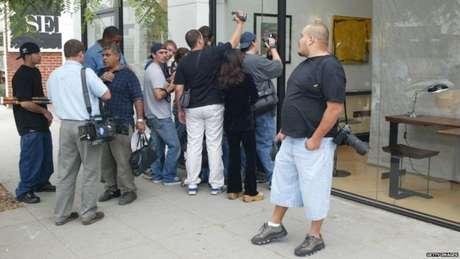 Jennifer Aniston foi seguida por paparazzis durante toda a sua carreira