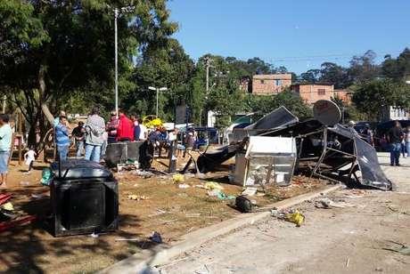 Acidente causou morte de adolescente e danificou casas em São Paulo
