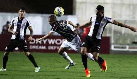 10ª rodada - Fluminense 2 x 4 Santos
