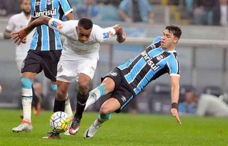 12ª rodada - Grêmio 3 x 2 Santos