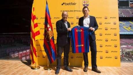 Betfair é o novo patrocinador do clube (Foto: Divulgação / Barcelona)