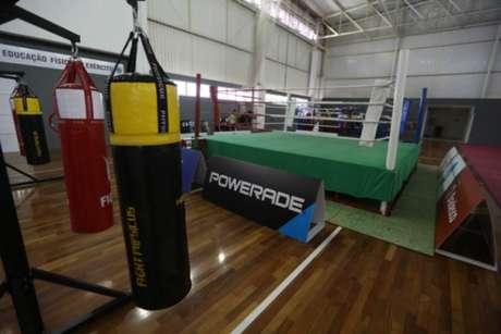 Base de treinamento do COB para a Olimpíada