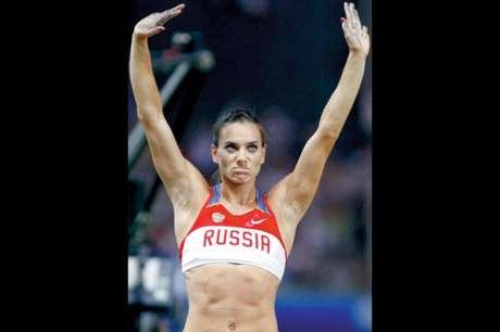 Yelena Isinbayeva (Foto: PHIL NOBLE/AFP)