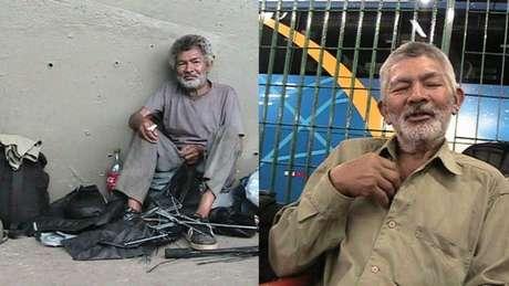 Antonio era morador de rua, encontrou a família com a ajuda de Marcos e voltou para a casa no em Barbosa (SP), onde viveu cinco anos e morreu
