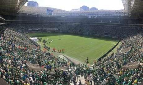 Estádio do Palmeiras receberá festival sertanejo no dia 11 de setembro (Foto: Thiago Ferri)