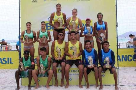Campeões do Circuito sub-23 de Cabo Frio (Foto: Divulgação)