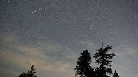 Duas impressionantes chuvas de meteoros poderão ser observadas nos próximos dias
