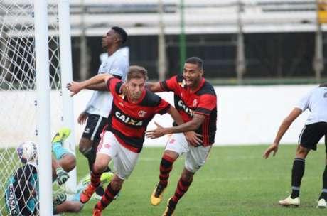 No segundo jogo, o time rubro-negro repetiu o placar da primeira partida (Foto: Gilvan de Souza/Flamengo)