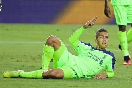 Firmino marcou o segundo gol do Liverpool (Foto: Divulgação/Liverpool)