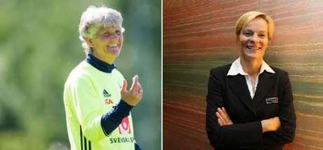 Pia Sundhage e Vera Pauw comandam Suécia e África do Sul, respectivamente (Fotos: SF e Fifa.com)