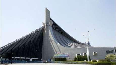 O estádio nacional Yoyogi é uma das arenas dos Jogos de 1964 que serão utilizadas nas Olimpíadas de 2020