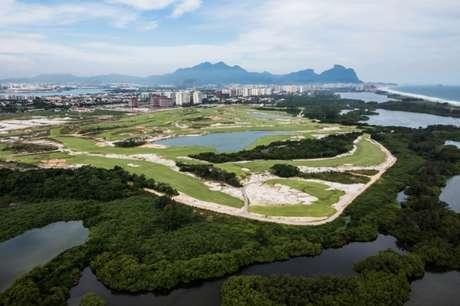 Campo Olímpico de Golfe, na Barra da Tijuca. (Foto: Renato Sette Camara/Prefeitura do Rio de Janeiro)