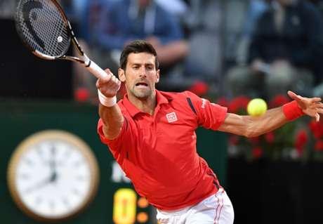 Campeão de quase tudo na carreira, o sérvio Novak Djokovic busca o inédito ouro olímpico(Foto: AFP / TIZIANA FABI)